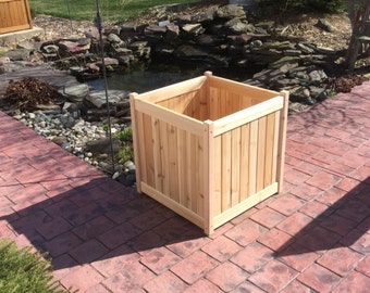 "24"" Cedar Planter Box (almost assembled)"