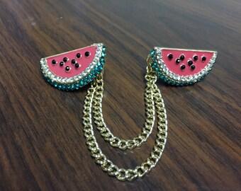 Sweater Clips: Watermelon
