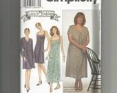 Simplicity pattern 8569 Misses Dress size 16 18 20