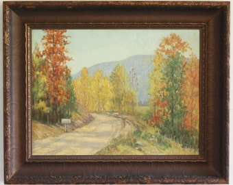 Kathryne Travis Hail Listed Texas Artist Ruidoso New Mexico Landscape painting