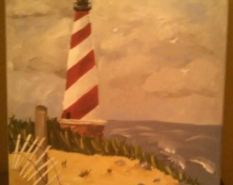 Lighthouse Painting NOT A PRINT