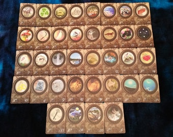 "The 'SPYGLASS LENORMAND"" by AlyZen Moonshadow fortune telling cards divination cartomancy"