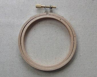 "Embroidery hoop 3"", 8cm single or pack of 6"