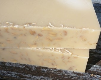 Goat's Milk and Oat Soap