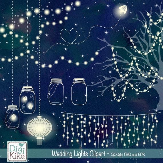String Lights Vistaprint : Wedding Lights Clip Art Vector String Lights Firefly