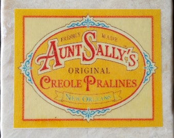 Aunt Sally's Pralines Coaster New Orleans