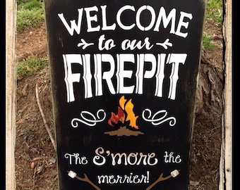 Welcome to our Firepit