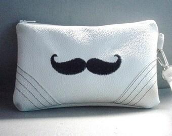 Cellphone Wristlet/Wallet/Mustache