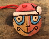 Holiday Tiki Ornament TikiBaby *Head Only* by Polynesiac Inspired by Disneyland