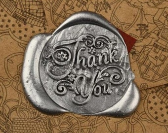 Thank you- wax seal stamp