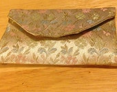 Brocade Clutch Pearl Case