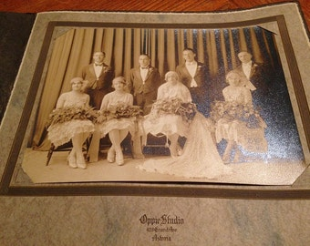 Wedding Party Photo 1927