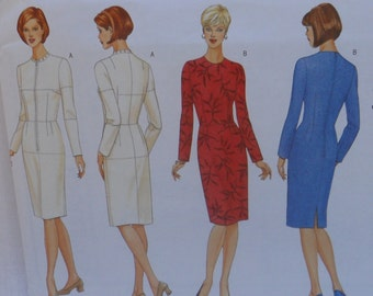 Butterick B5627 Personal Fitting Pattern, Moulage, and Dress, Uncut