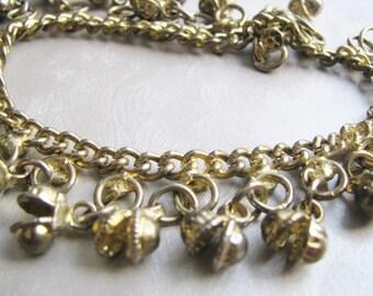 Antique Gold Bracelet - Vintage Bracelet - Bangle Bracelet