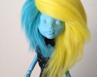 Monster High Edgy Fur Wig [Your Color Choice!]