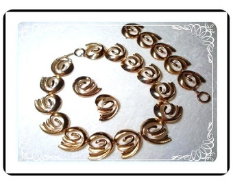 Big Whopper Golden Parure - For The Bold and Beautiful  Para-1430a-40510000