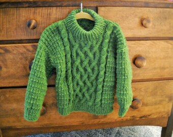 Irish Knit Pullover