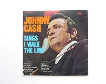 Johnny Cash Sings I Walk the Line LP - Johnny Cash