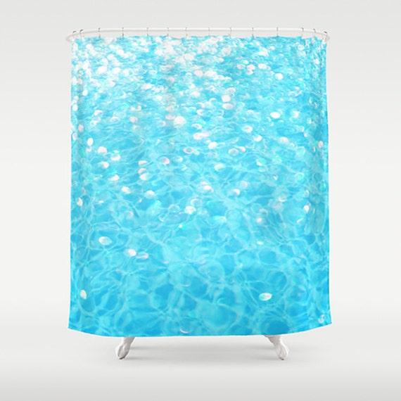 swimming pool shower curtain custom photo shower curtain