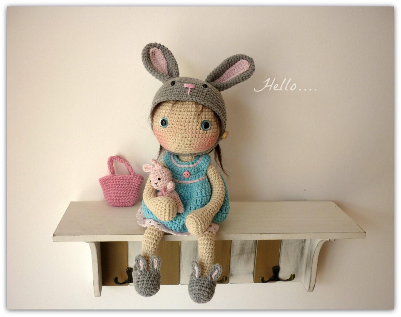 Amigurumi Crochet Doll Lily by Rusi Dolls