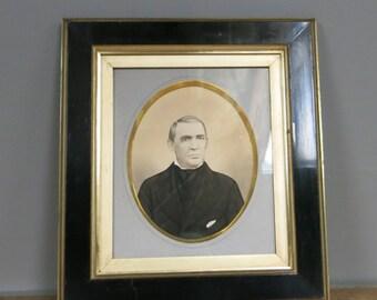 Antique Portrait Picture Frame