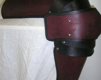 Full Leather Leg Set