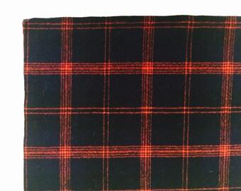 Pendleton Wool Tartan Plaid Scraps