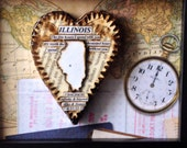 Anniversary Gift Men - Custom Trave Map Gift - Man Cave