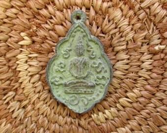 Antique Style Thai Buddhist Amulet