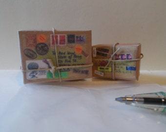 P-2    Miniature  Mailing packages set of 2