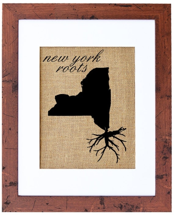 New York Roots Wall Art Custom Wall Art Know Your Roots