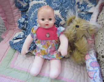 Madame Alexander Little Huggums Squeaker Baby Doll 1977 /NOT INCLUDED In Sale  :)S