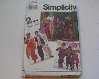 Vintage Simplicity Pattern 7416 Clown Costume
