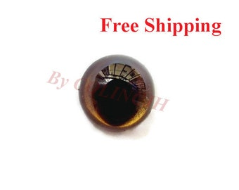10pairs Cat Eyes Plastic Craft Eyes Safety Colored Animal Eyes Hand-painted 7.5mm/9mm/10.5mm/12mm/13mm/15mm/18mm