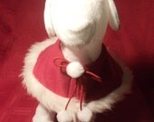 Custom Santa Dog Cape