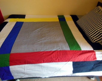 Pair of Nautical Single Bed Duvet Covers