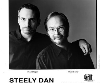 Steely Dan Publicity Photo 8 by 10 Inches