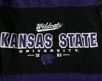 T Shirt Scarf Necklace K State Manhattan Wildcats Kansas KSU