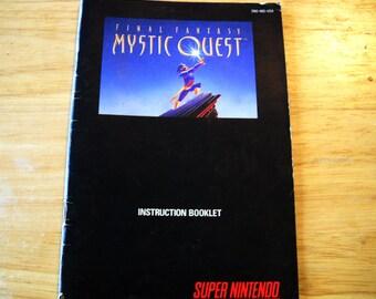 Mystic Quest Booklet
