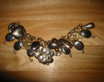 Love Poured Out OOAK Charm Bracelet by Kay Creatives
