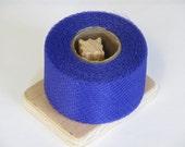 Nylon Net Scrubbie Supplies - 40 Yards Long Spool - Dark Purple 2 Inch Strip