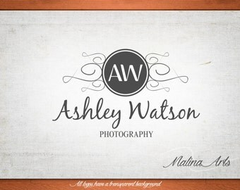 Photography logo design and photography watermark. Initials logo designs. Logo and initials BUY 2 and GET 1 FREE!!!