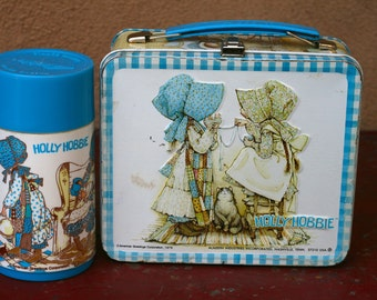 Holly Hobbie Lunchbox and Thermos from 1979