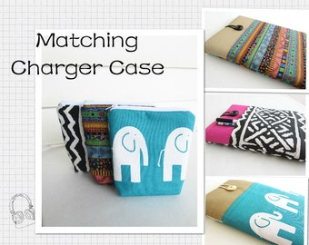 Matching Charger Case for Macbook, iPad, Chromebook, Surface Pro, Charger Case, Charger Pouch.