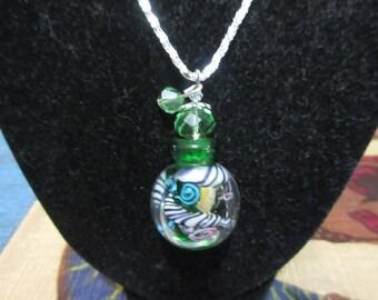 Pick Your Poison Perfume Bottle Necklace