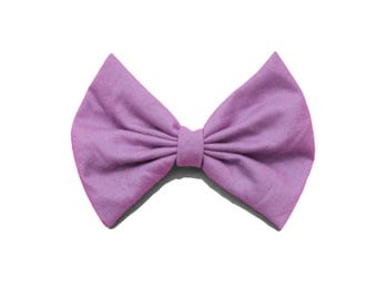Orchid Purple Hair Bow
