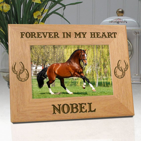 Picture Frame For Horses Personalized With Name