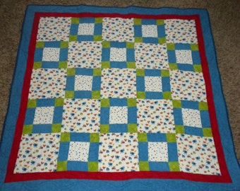 Outer space baby boy quilt by danastiegemeier on etsy for Outer space quilt patterns