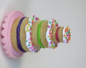 Birthday cake for American Girl dolls