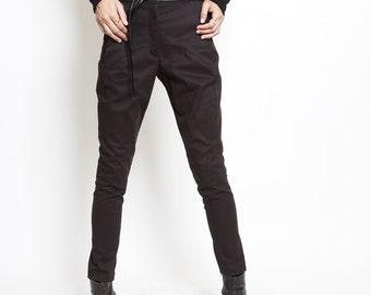 black pants- long chic pants- asymmetric pants - black ridding pants- rocker chic- blue pants- brown pants- dark grey pants